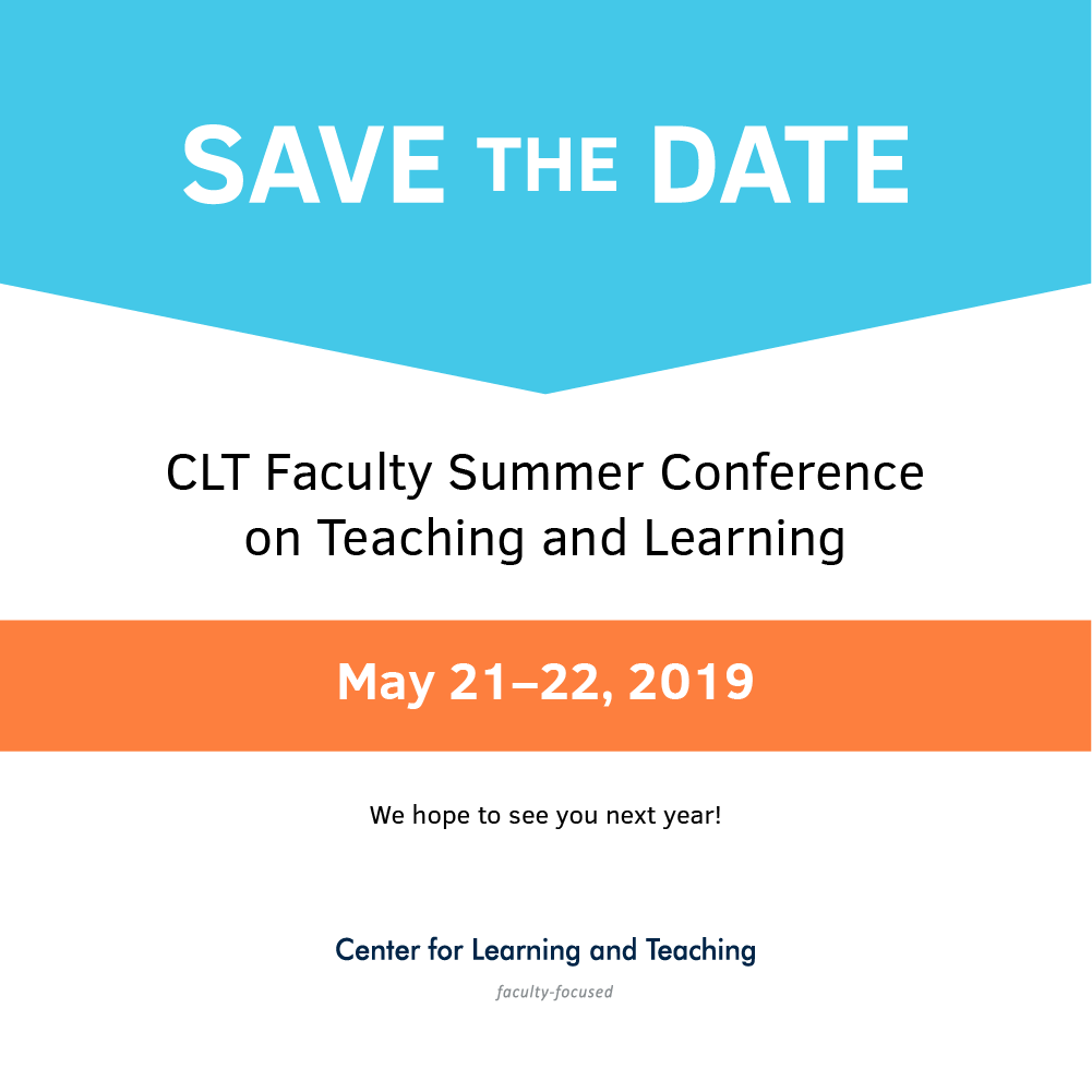 The 2018 Faculty Summer Conference, Ahead of the Curve: How ODU is Shaping the Online Learning Landscape. May 22-23. Ted Constant Convocation Center.